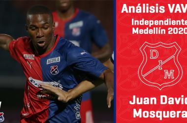 Análisis VAVEL, Independiente Medellín 2020: Juan David Mosquera