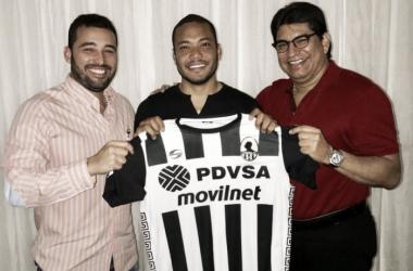 Presentación de Juan Falcón FOTO: Prensa Zamora FC