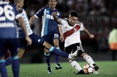 JuanFer Quintero en el último partido ante Racing. FOTO: CARO Oficial.