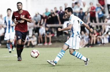 Juanmi espera tener más minutos esta temporada con Garitano. Foto: Real Sociedad