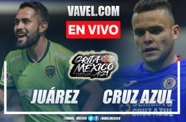Goles y resumen del Juárez 2-1 Cruz Azul en Liga MX 2021