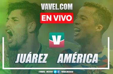 Resumen y video goles Juárez 1-1 América en Apertura 2019