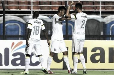 Thiago Ribeiro comemora empate no final, mas admite partida ruim do Santos