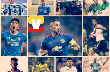 Jugadores ecuatorianos destacan en varias ligas del mundo. Fotomontaje: VAVEL Ecuador