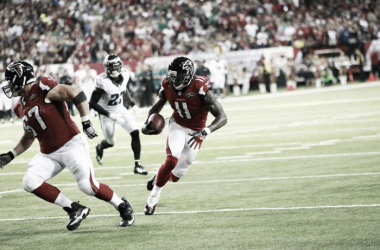 Julio Jones scored the first of two touchdowns in last season's opener vs Philadelphia Eagles. (Source: atlantafalcons.com)
