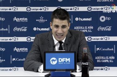 """Julio Velázquez: """"El empate es el resultado más justo"""""""