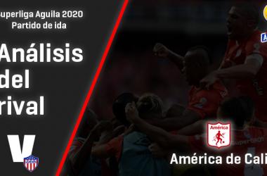 Junior de Barranquilla, análisis del rival: América de Cali (Ida - Superliga 2020)