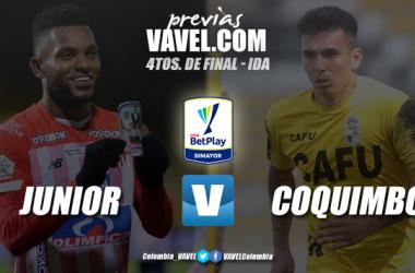 Previa Junior de Barranquilla vs Coquimbo Unido: primer choque buscando las semifinales