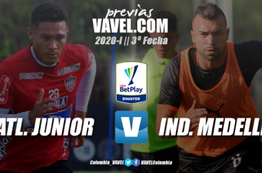 Previa Junior vs. Independiente Medellín: duelo prometedor en Barranquilla