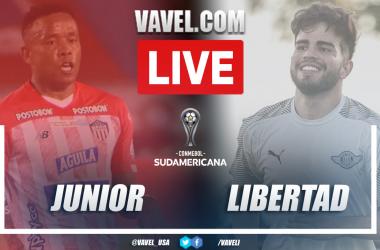Goals and Highlights: Junior (3-4) Libertad in Copa Sudamericana 2021