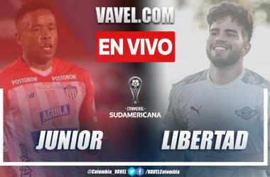 Resumen y goles: Junior 3-4 Libertad en octavos de final (ida) por Copa Sudamericana 2021