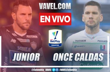 Resumen Junior vs Once Caldas (4-2) en la fecha 6 por Liga BetPlay 2021-II