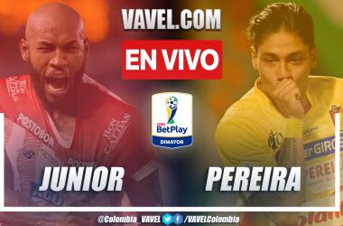 Resumen y goles: Junior 4-3 Pereira en octavos de final (ida) por Copa BetPlay 2021