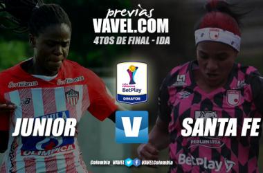 Previa Junior vs Santa Fe: duelo interesante para iniciar las finales de la Liga Femenina