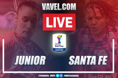 Resumen Junior vs Santa Fe (1-3) por Liga Femenina 2020