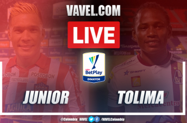 Resultado, resumen y goles de Junior vs Tolima (1-0) por la ida de los cuartos de final de la Liga BetPlay 2020