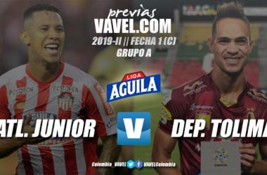 Previa Junior de Barranquilla vs. Deportes Tolima: ambos quieren iniciar con pie derecho