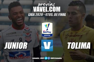 Previa Junior de Barranquilla vs Deportes Tolima: duelo intenso en el Metropolitano
