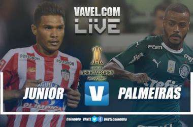 Resultado e gols Junior e Palmeiras pela Libertadores 2019