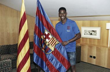 Junior Firpo, nuevo jugador del Barça