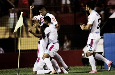 Matías Mier fue el jugador más desequilibrante del partido. | Foto: Sport Recífe