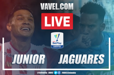 Resumen y goles: Junior 3-2 Jaguares en Liga BetPlay 2020