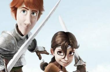 Protagonistas de 'Justin y la espada del valor' (Foto sin efecto: filmmagazinedigital).
