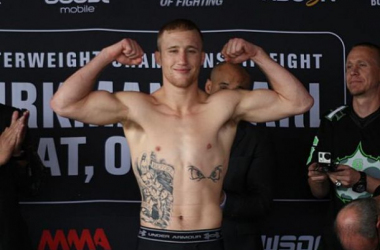 Justin Gaethje set to defend his 155 title at WSOF 19./mmafighting.com