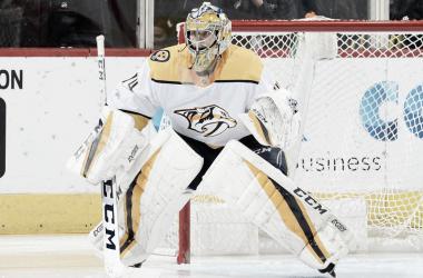 Juuse Saros, importante pilar para los Predators del futuro (NHL.com)