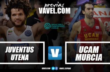 Juventus Utena - UCAM Murcia. Partido clave en Lituania
