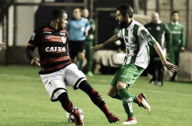Juventude marca no último minuto e busca empate contra Atlético-GO