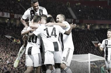 La Juventus asalta Old Trafford tras una gran actuación. Imagen: Juventus