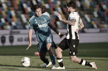 Udinese vira nos acréscimos e adia título italiano da Juventus