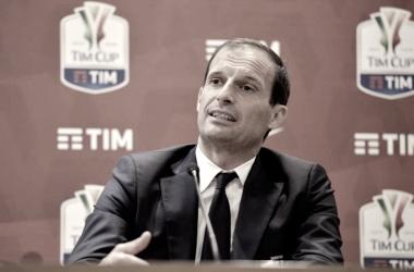 Allegri en conferencia de Prensa I Foto: Prensa Juventus FC