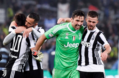 La Juventus festeggia / Juventus Twitter