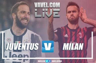 Resumen Juventus 3-1 Milan en Serie A 2018