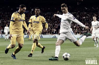 Ronaldo durante el partido de ayer | Foto: Daniel Nieto (VAVEL)