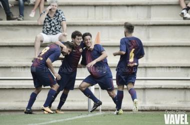El Juvenil A de antaño celebrando un gol | Foto: Noelia Déniz - VAVEL