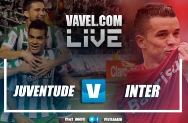 Resultado e gols Juventude 1x2 Inter AO VIVO no Campeonato Gaúcho 2019