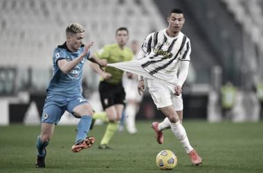 Juventus 3 a 0 Spezia (Serie A / Divulgação)