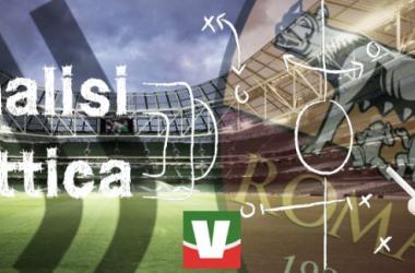 Juventus-Roma, l'analisi tattica