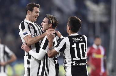 Serie A - Bernardeschi esplode e gli argentini si sbloccano. La Juve soffre ma poi dilaga con la Spal (4-1)