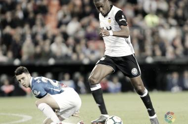Geoffrey Kondogbia, el motor del Valencia CF