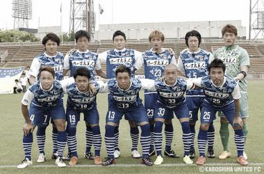 Imagen de una alineación del Kagoshima United. / Foto: Kagoshima United FC