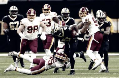 Drama y remontada en la victoria de los Saints ante Redskins | Foto: NFL