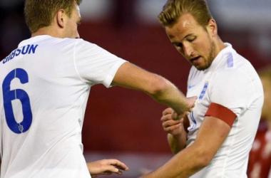 Harry Kane será el capitán ante Eslovenia (FA.com)