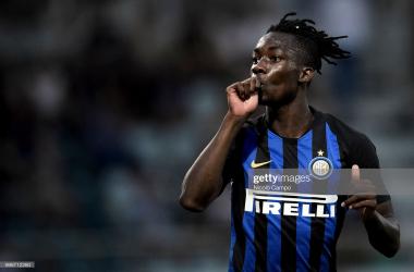 Parma confirm loan signing of Karamoh from Inter Milan