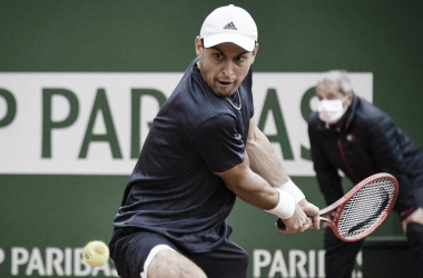 Aslan Karatsev venceu Lorenzo Musetti noMasters 1000 de Monte Carlo 2021 (ATP / Divulgação)