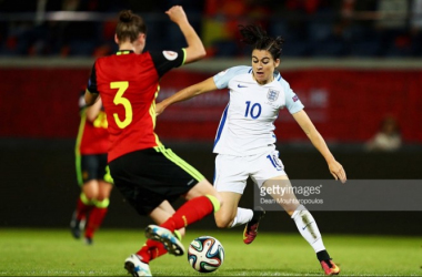 Euro 2017 Qualifying - Karen Carney turns on the style for England against Belgium