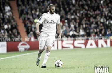 Benzema jugando con el Madrid | Fuente: Dani Mullor